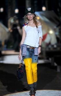Dsquared 2010 Gele jeans