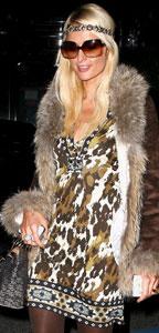 Paris Hilton in Halé Bob