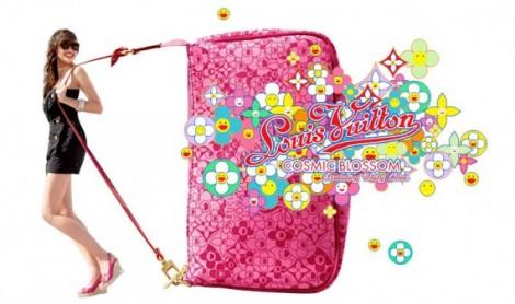 Louis Vuitton Limited Edition Roze Handtas