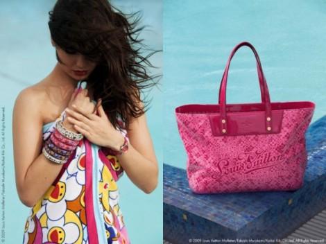 Louis Vuitton Handdoek en Handtas Limited Edition