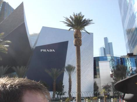 Prada Winkel Las Vegas Strip