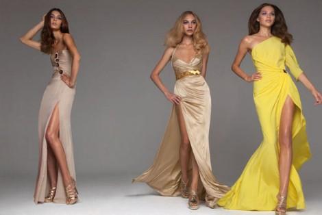 Versace Zomercollectie Avondkleding Galajurken