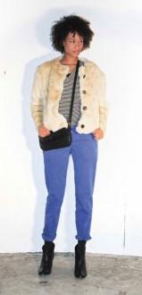 Bellerose Wintercollectie Blauwe broek