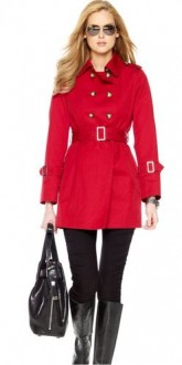 Michael Kors Rode Trench