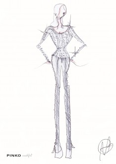 PINKO by Mark Fast Zomercollectie Sketch