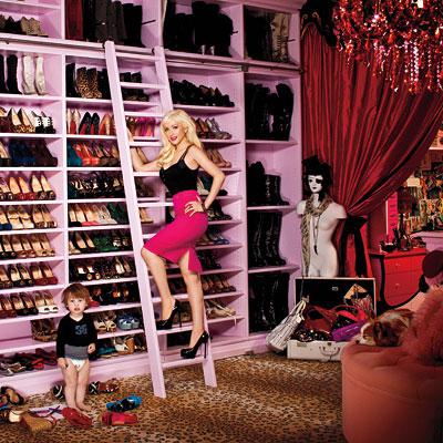 Dressing Christina Aguilera