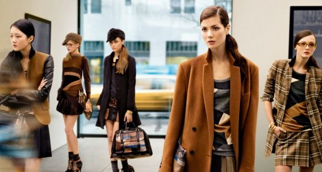DKNY wintercollectie campagne