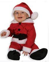 Kerstkostuum baby