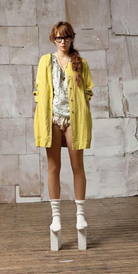 Bellerose gele jas