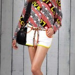 Love Moschino 2011 blouse print