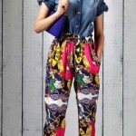Love Moschino 2011 broek print