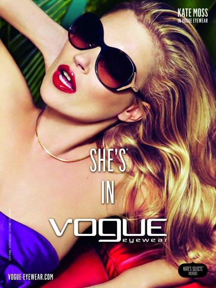 Vogue brillen Kate Moss