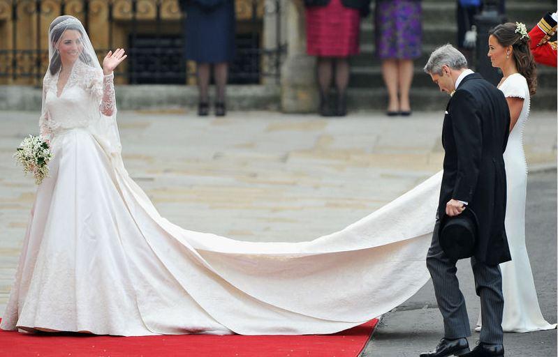 Trouwjurk Kate Middleton