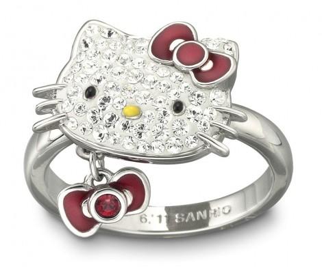 Hello Kitty Ring Swarovski
