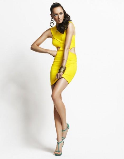 Supertrash Gele jurk