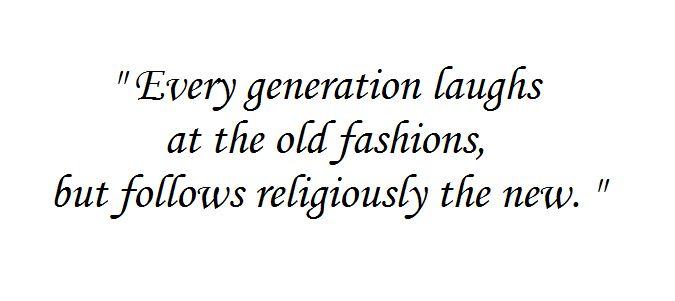 Fahsion Quotes Henry David Thoreau