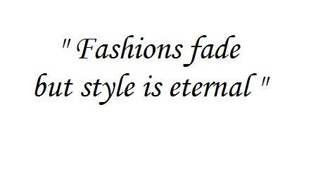 Fashion Quote Yves Saint Laurent