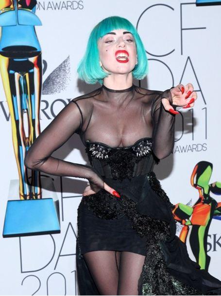 Lady Gaga Fashion Icon Award