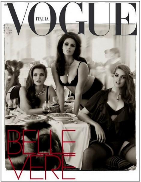 Vogue Italie Tara Lynn