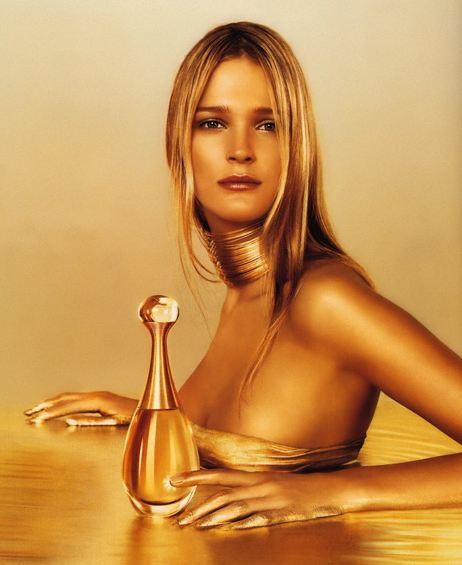 Carmen Kass Dior Parfum