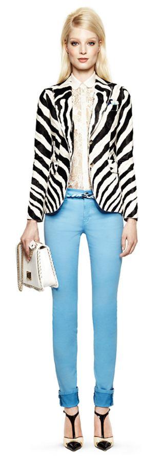 Emilio Pucci Blauwe broek blazer