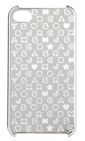 Iphone Cover Silver Marc By Marc Jacobs