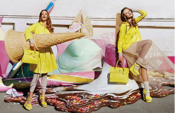Mulberry Zomercollectie 2012 Geel