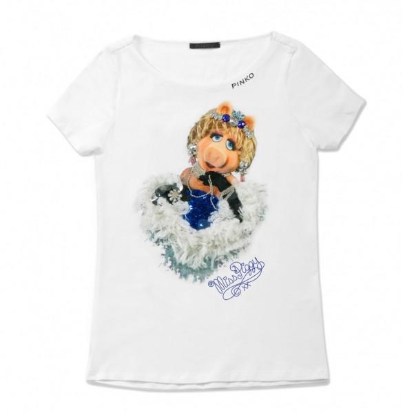 Pinko 2012 t-shirt Miss Piggy