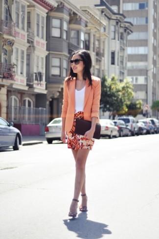 Blazer Tangerine Orange