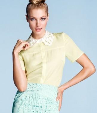 Kraagje H&M 2012 geel