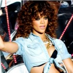 Rihanna voor River Island