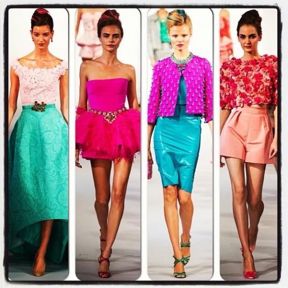 New York Fashionweek Zomercollectie 2013