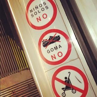 Crocs verboden