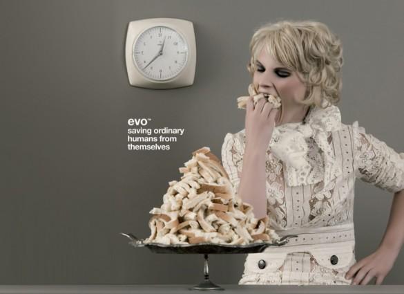 Evo haarproducten reclame